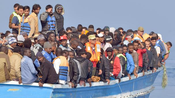 Migrants have been heading to Europe from north Africa