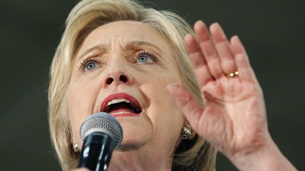 Democratic presidential hopeful Hillary Clinton is inching closer to her party's nomination (AP)