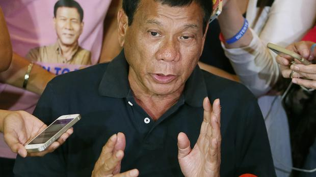 Philippine president-elect Rodrigo Duterte wants the public to fight back against drug dealers