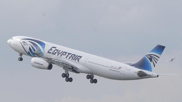 Officials said no bomb was found on the EgyptAit flight (AP)
