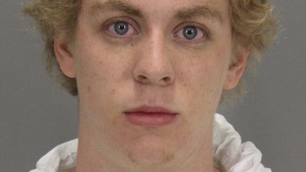 Brock Turner was sentenced to six months in prison (Santa Clara County Sheriff's Office/AP)