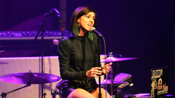 Christina Grimmie was shot at a concert venue in Florida (AP)