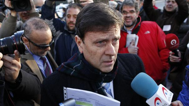 Doctor Eufemiano Fuentes, pictured arriving at a court house in Madrid earlier this year (AP)
