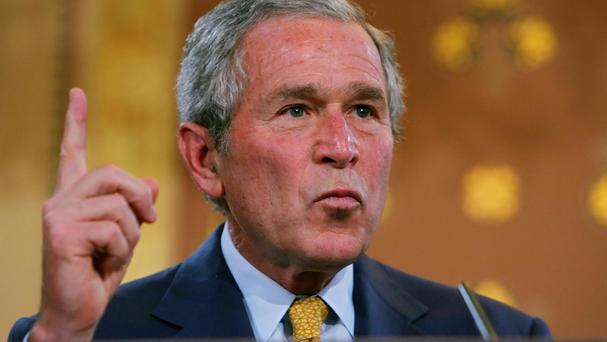 US President George Bush was worried about the image of detainees wearing nappies