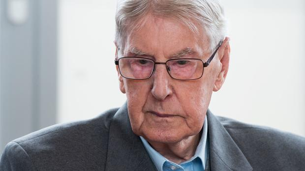 Reinhold Hanning has been jailed for five years (AP)