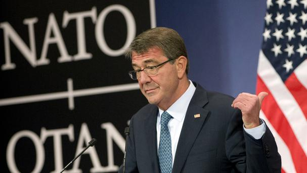 Ash Carter said the hackers tackled five public Pentagon internet pages (AP)