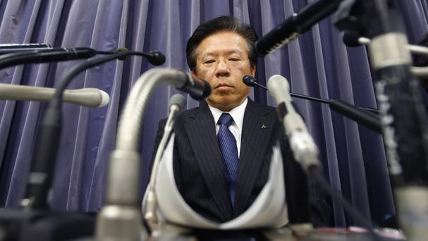 Tetsuro Aikawa said last month he will step down to take responsibility for the mileage scandal (AP)