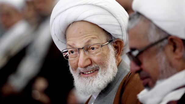 Sheik Isa Qassim has had his Bahraini citizenship revoked (AP)