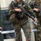 Two people were picked up by anti-terror officers in Verviers and Tournai (AP)