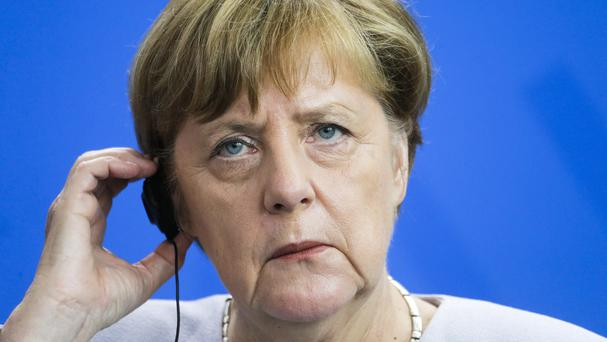 German Chancellor Angela Merkel said she understands British leaders will need time to analyse the outcome of the Brexit vote (AP)