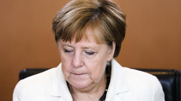 Angela Merkel said Britain will remain an important friend despite its exit from the EU (AP)