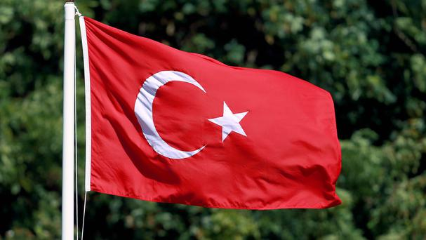 Two Turkish police officers are among those injured in the attack