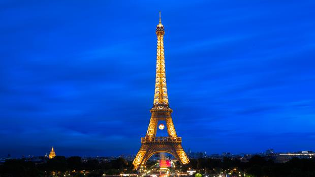 The Eiffel Tower in Paris (stock photo)