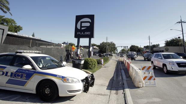 The shooting at the Pulse nightclub in Orlando, Florida, left dozens dead (AP)