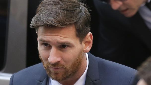 During the four-day trial last month, Messi and his father denied any wrongdoing (AP)