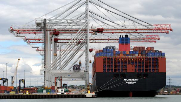 German exports to the UK have been forecast to fall by 5% by 2017