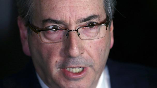 Eduardo Cunha, who led efforts to impeach Brazil's suspended president Dilma Rousseff (AP)