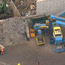 Video grab from Sky News of the scene of the fatal accident at Hawkeswood Metal in Birmingham