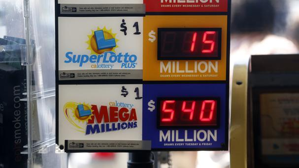 The Mega Millions jackpot was 540 million dollars (AP)