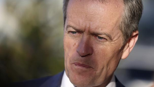 Bill Shorten conceded defeat in an election that has left Australia in limbo (AP)