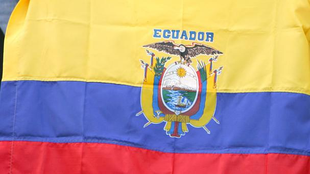The earthquakes hit in Ecuador's north-western coastal area