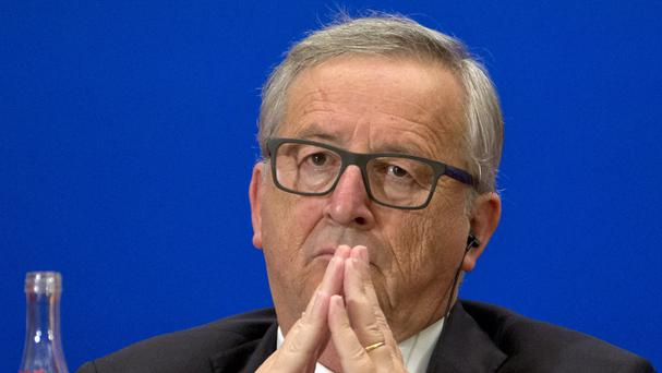European Commission president Jean-Claude Juncker attended a summit in China (AP)