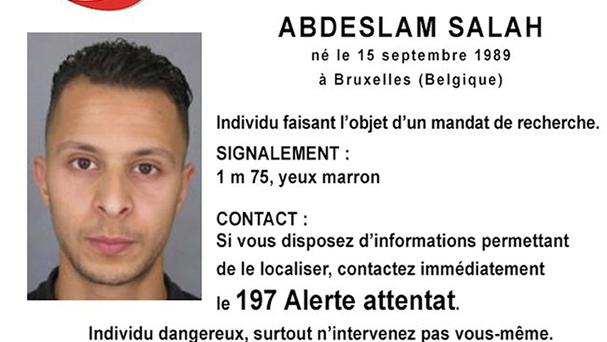 Salah Abdeslam is being monitored by video cameras in his cell