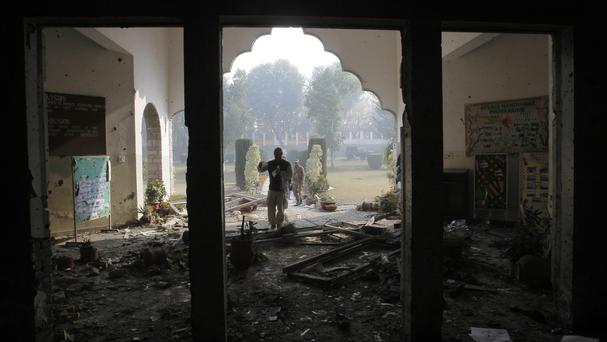 The attack on the school left 150 people dead (AP)