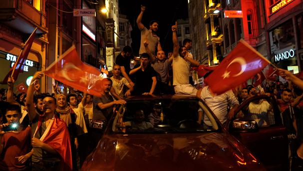 Turkey detains around 6000 over coup plot