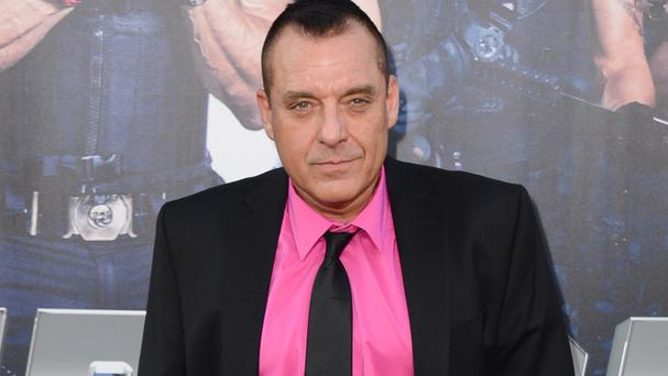 Los Angeles police arrested Tom Sizemore on suspicion of domestic violence on Tuesday (AP)