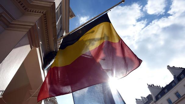 The incident came amid heightened security in Brussels
