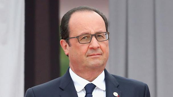 French President Francois Hollande Picture: PA