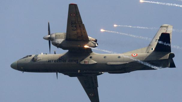 The Indian Air Force is searching for a missing AN-32 transport plane (AP)