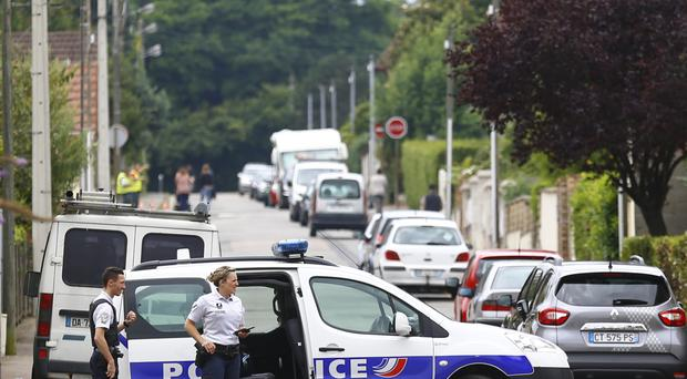 Assailants have seized hostages in a church at Rouen, Normandy