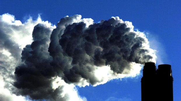 The EU has agreed to a 40pc reduction on 1990 greenhouse gas emission levels by 2030. Photo: PA