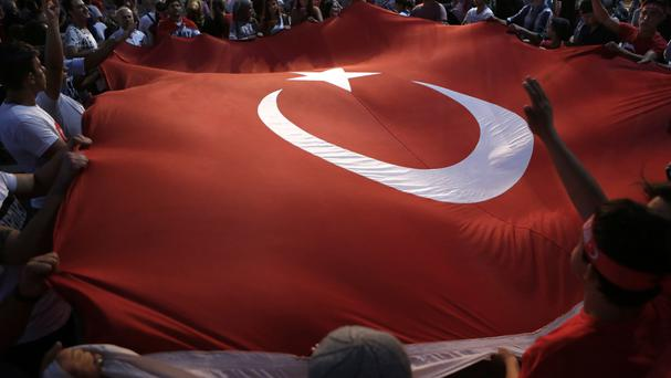 The detention of journalists has raised concerns about a possible witch hunt after the coup attempt (AP)