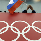 The International Weightlifting Federation has suspended has suspended four Russians . Photo: AP