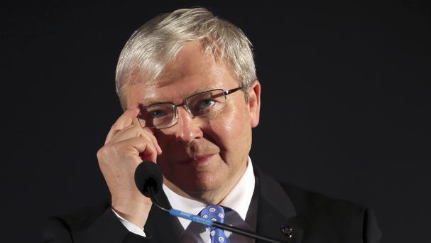 Former prime minister Kevin Rudd spent months lobbying for government support (AP)