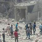 The Syrian Observatory for Human Rights said coalition aircraft struck the village of Al-Ghandour