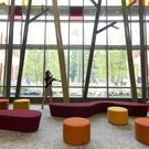 The lobby of the new Sandy Hook Elementary School (AP)