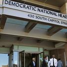 The Democratic National Committee headquarters in Washington (AP)