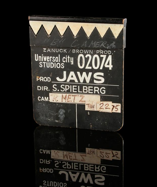 Clapperboard from 'Jaws'