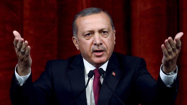 Recep Tayyip Erdogan has criticised those who 'supported' the coup