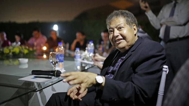 Egyptian-American Nobel chemistry laureate Ahmed Zewail, who has died aged 70 (AP)
