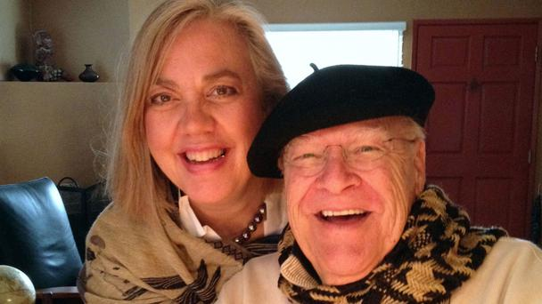 The Big Lebowski actor, David Huddleston, (pictured with his wife Sarah C Koeppe) died aged 85 on August 2. (Sarah C Koeppe/AP)