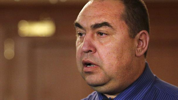 Igor Plotnitsky, the leader of pro-Russian rebels in the Luhansk region, is said to be in a stable condition (AP)