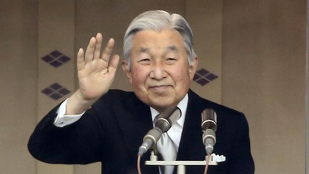 Uncertainty in Japan as emperor hints at abdication