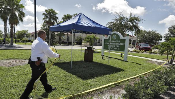 Police say an officer accidentally shot a woman to death during a citizen's academy exercise in Florida (AP)