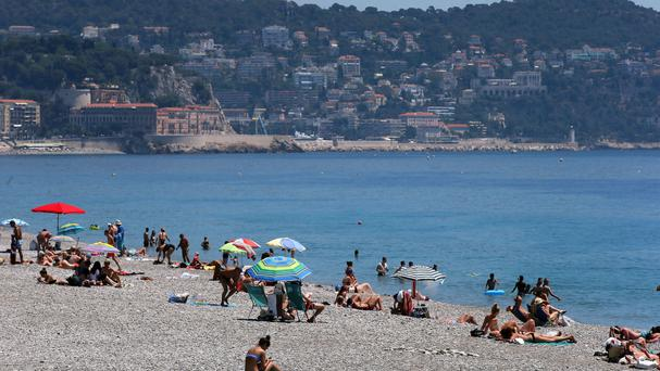 The burkini is banned from some French beaches