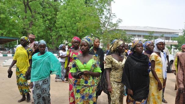 Some of the kidnapped girls escaped from Boko Haram extremists (AP)